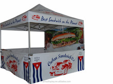 Factory supplied heavy duty used gazebo 3x3 canopy for sale