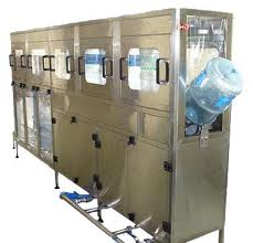 Fully Automatic 20 Ltr Jar Washing Filling Capping machine.