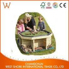 Hot Sale outdoor equipment toy outdoor wood storage cabinets shopping