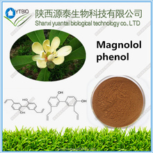 factory supply Magnolia Bark Extract 50% ~ 98% Magnolol total phenol powder