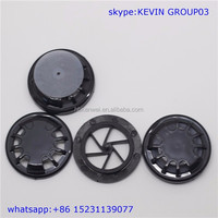 black round shape plastic one way exhalation valve for activated carbon filter n95 cotton face mask