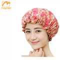 Shower caps Promotional Logo Printed Bathing Cap