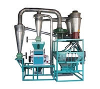 Professional design corn maize flour mill , corn grit and flour milling machine