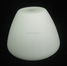 customized opal shinny bowl glass lamp shade