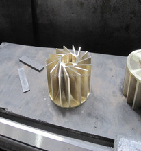 water ring vacuum pump impeller(alloy cooper)