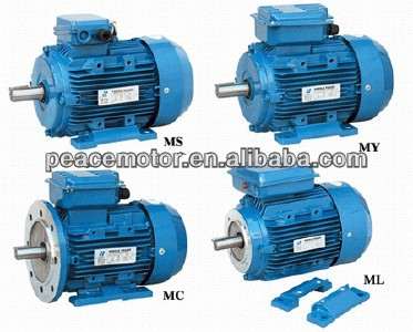 MS MY ML MC single-phase asynchronous electric motor 1.5hp