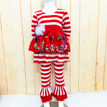 baby girls stripe dress pants sets girls valentines outfits girls boutique clothes fall