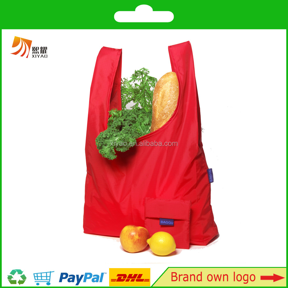 foldable recyclable lady shopping bag wholesale