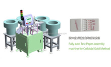 test paper assembly machine for collodal gold method