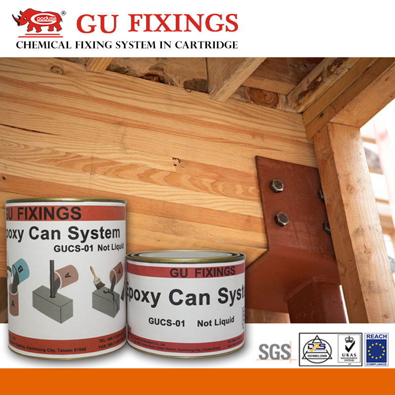 Good adhesive fasteners suppliers epoxy resin concrete for wood