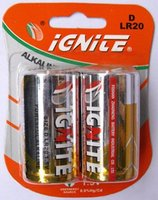 D LR20 1.5V Powerful Alkaline Battery