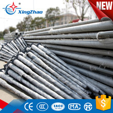 Best price high quality galvanized steel sign poles