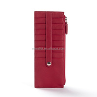 Genuine Leather credit card stacker wallet