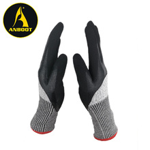 antip puncture stainless steel wire mesh cut resistance gloves multipurpose