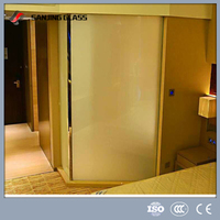 Shower Enclosure Electric Privacy Protection Switchable Smart PDLC Film Glass