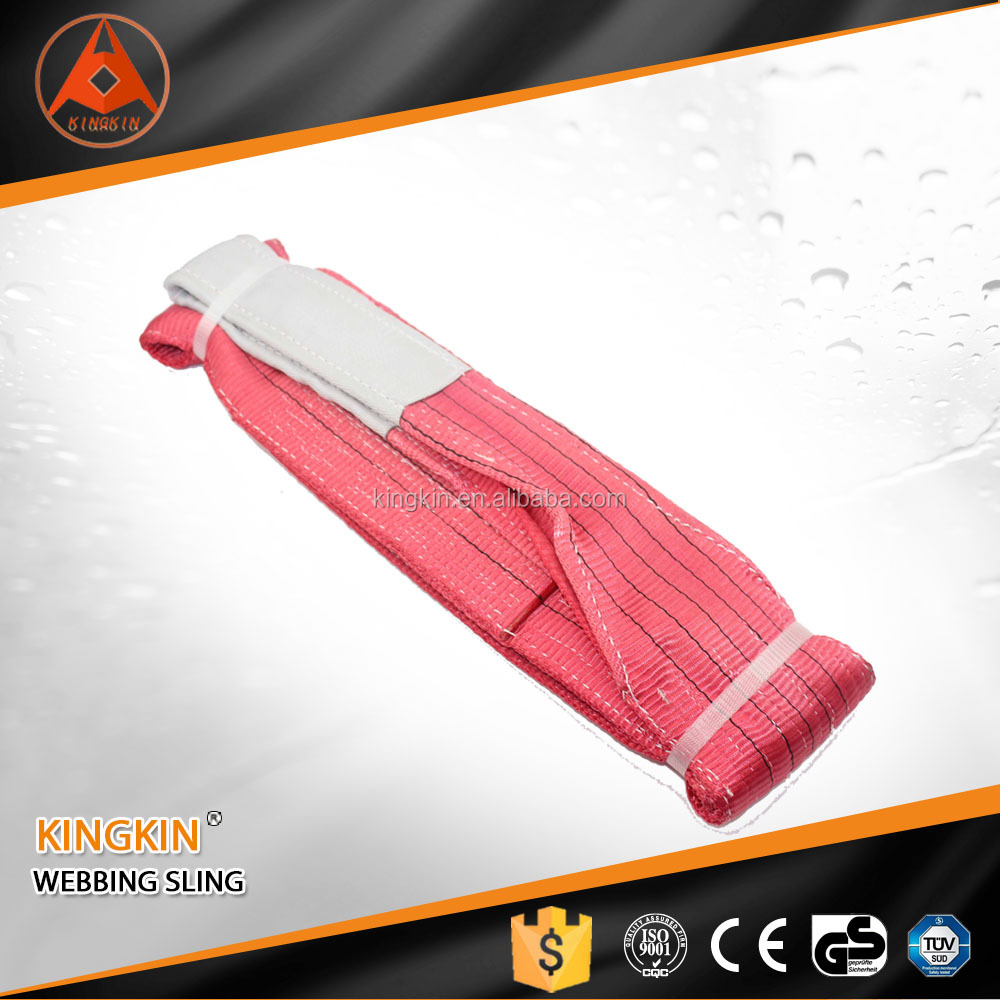 high quality lifting sling polyester webbing sling belt web sling for lifting