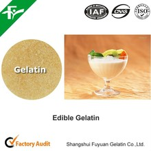 edible gelatin / food grade gelatin as a emulsifier agent in food industry