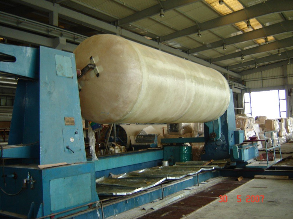 Glass Reinforced Polyester Tank, 20T, Waste Water Treatment Tank
