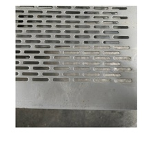 slotted hole low temperature galvanized wire mesh stainless steel thin perforated galvanized steel mesh