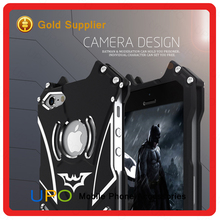 [UPO] Promational 2017 Luxury Metal 2 in 1 Combo Hybird TPU PC R-Just Batman Case For iPhone 5 5S SE
