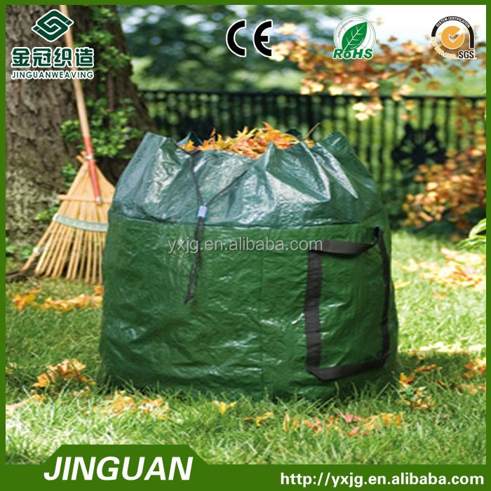 UV-resistant, tear-resistant and water-repellent garden waste bag