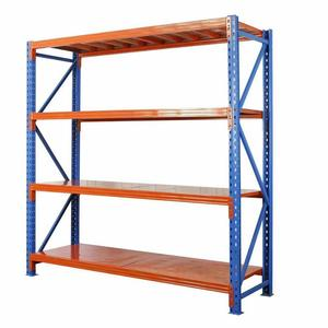 Factory racking system 4 layers shelving rack warehouse storage shelf