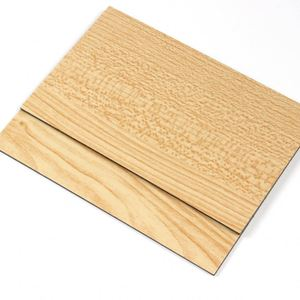 Wood Texture ACP Sheet Aluminum Composite Panel with high quality