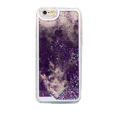 2015 New Arrival 3D glitter flowing sparkle liquid star waterproof mobile phone case for Iphone 5C