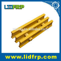Yellow FRP molded grating