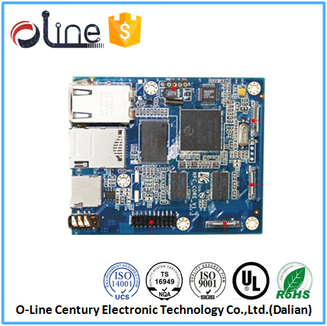 OEM ODM 2 layer 94v0 Lead free 4g wifi router pcb board