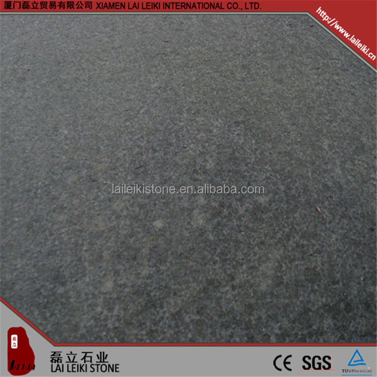 Best quality nature stone G684 grey honed basalt hall floor tiles patterns