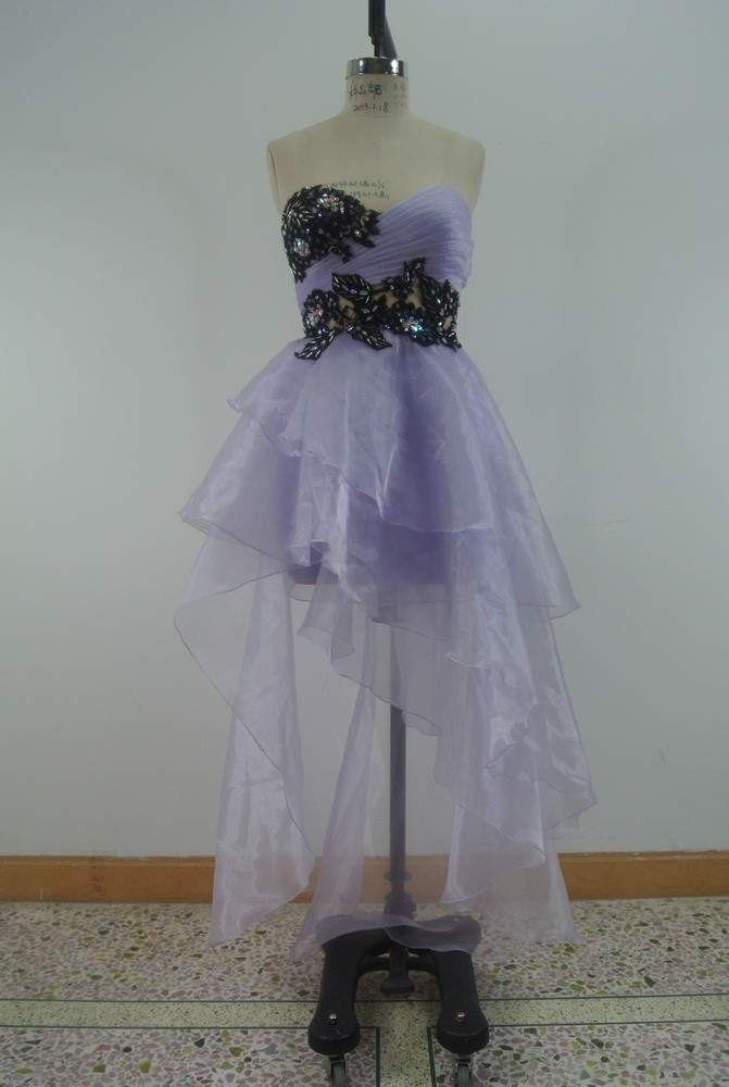 Accept paypal fashional sexy light purple bride ball gown wedding dresses