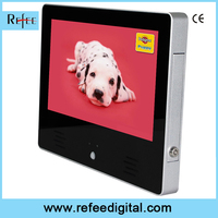 motion sensor 10 inch lcd, human body induction lcd player, interaction digital signage