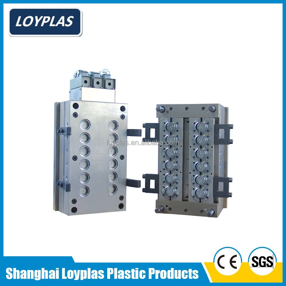 Custom precision plastic injection screw cap mould