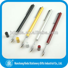 2014 various color antenna pen ballpoint pen with radio antenna inside the barrel