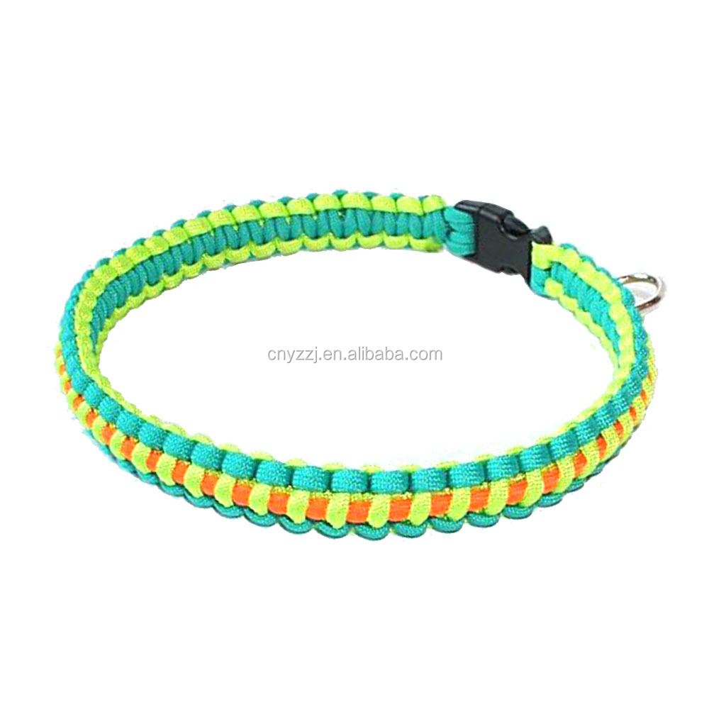 Cute Dog Collar Quick Adjustable Small Puppy Dog Cat Leashes Collars Lead Chest Straps Chain Rope for Pet