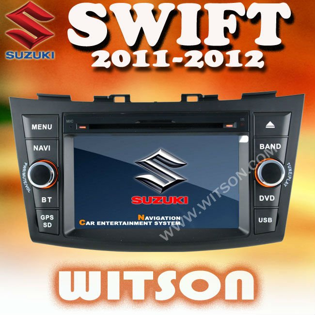 WITSON SUZUKI SWIFT 2011-2012 CAR STEREO with USB port and iPod ready