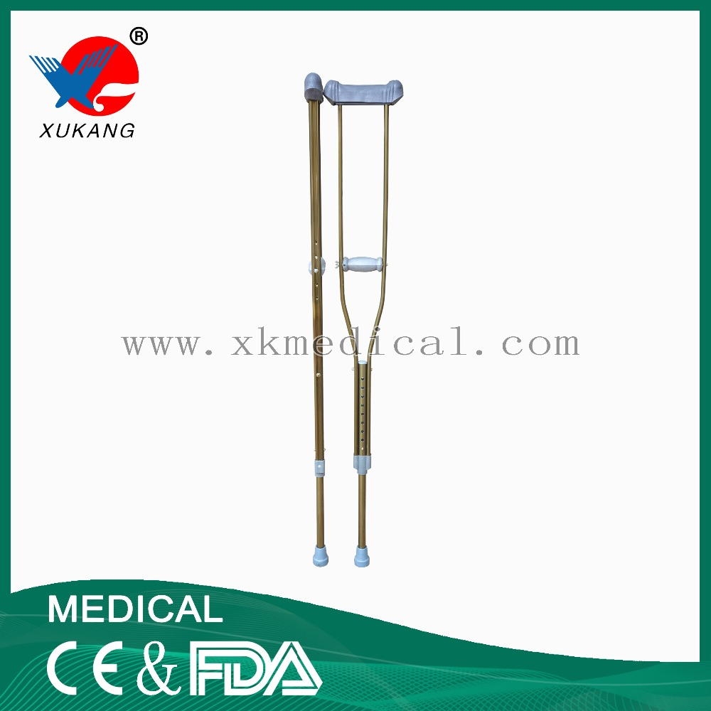 aluminium light weight forearm crutch single under arm crutches and stick walking for sale Groove Aluminum Alloy Crutch