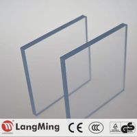 2mm 3mm 10mm 20mm transparent roof solid polycarbonate sheet price