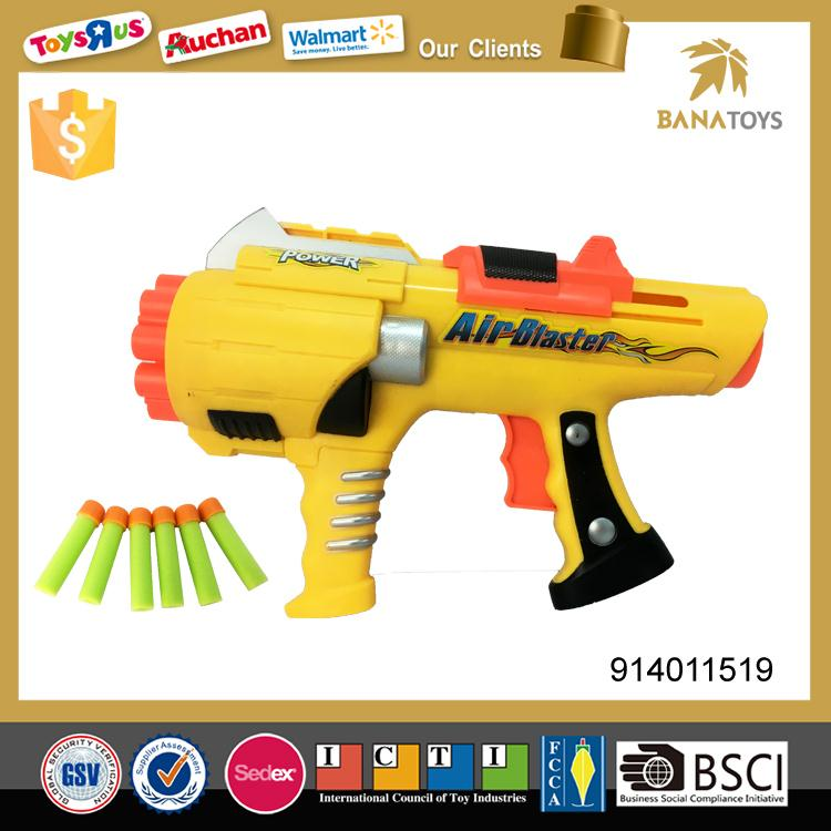 New model airsof gun with 12 soft bullets