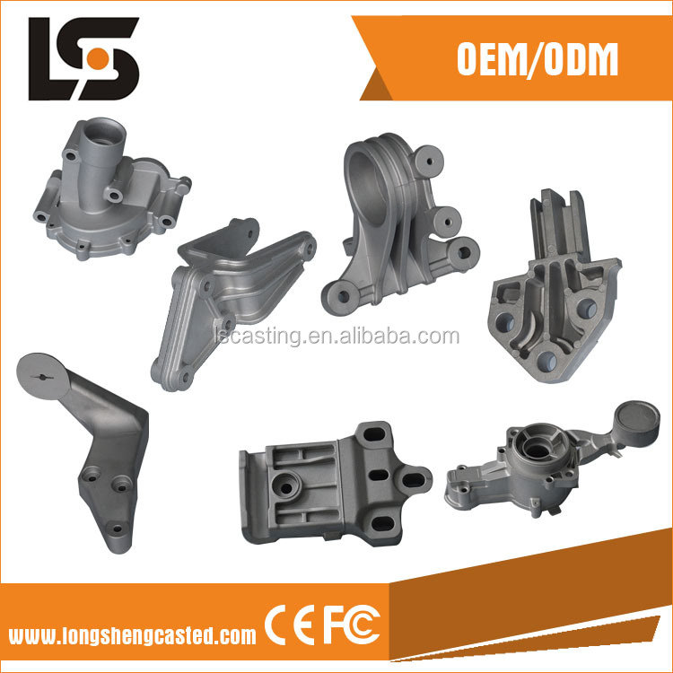 Various Die Casting Alluminum Auto parts and Motorcycle Accessories