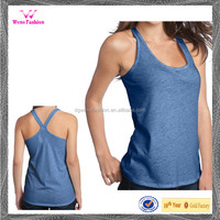 Sexy Yoga O Neck Sleeveless Racerback Womens Tank Top