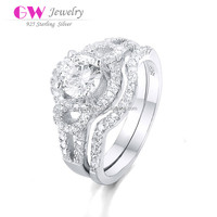 New 925 Silver Diamond Ring Wholesale Fashion Jewelry FR026