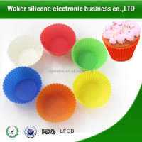 Hot Sale Silicone baking supplies/home Bakery Muffin Cases