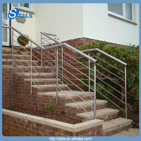 factory custom iron railing handrails for outdoor steps
