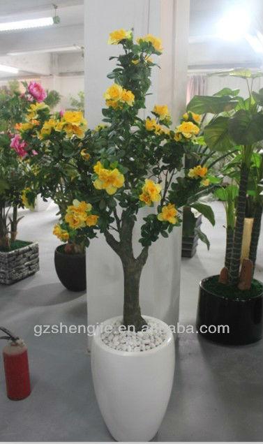 Sj alta imitaci n artificial rbol rododendro rboles en - Rododendro arbol ...