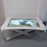 46 inch X shape design PC play board Touch Screen Table Interactive Digital Signage