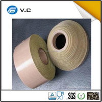 New product Thermal resistance corrosion prevention PTFE coated fiberglass adhesive tape