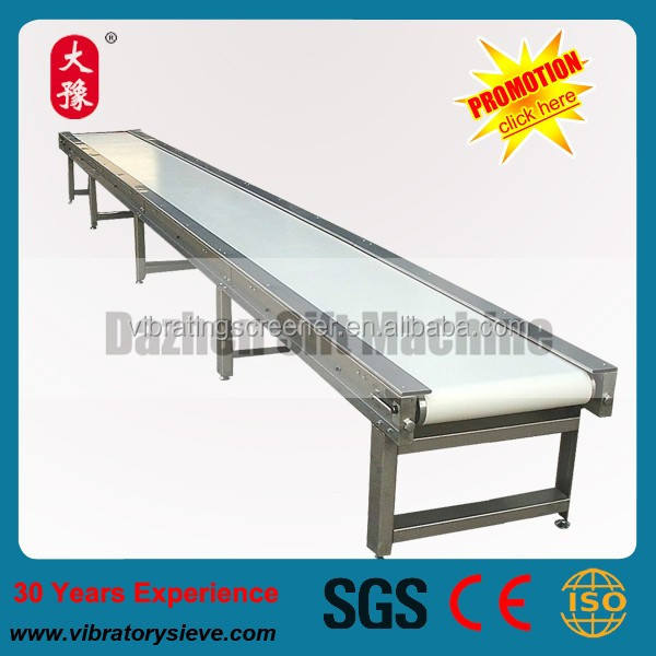 Stainless Steel 304 Automatic Belt Conveyor for Material Handling