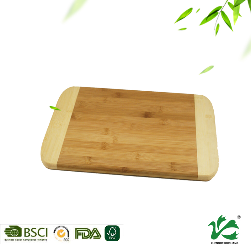 Natural eco-friendly bamboo cutting board chopping wooden board